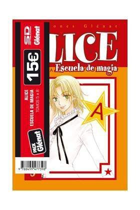 PACK GLENAT: ALICE ESCUELA DE MAGIA (VOLS.5 A 8)