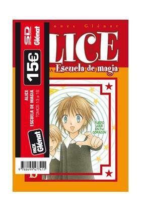 PACK GLENAT: ALICE ESCUELA DE MAGIA (VOLS.13 A 16)