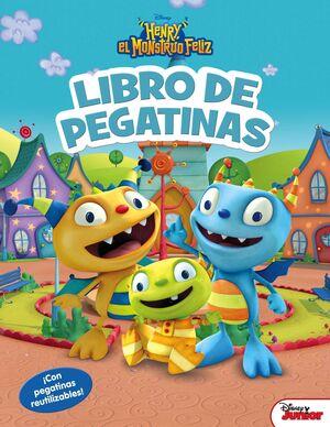 HENRY EL MONSTRUO FELIZ. LIBRO DE PEGATINAS