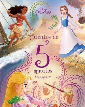 PRINCESAS DISNEY. CUENTOS DE 5 MINUTOS V2
