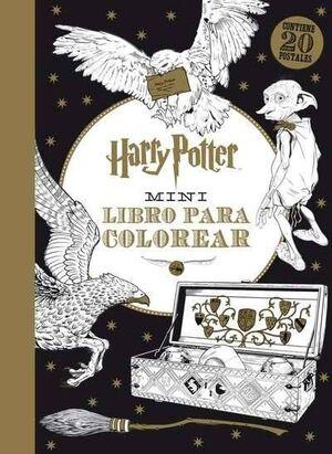 HARRY POTTER MINI LIBRO PARA COLOREAR