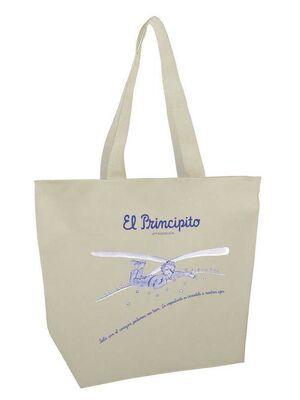 EL PRINCIPITO BOLSA MEGA SHOPPER SOLO CON EL CORAZON