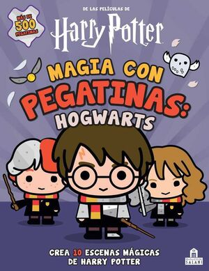 HARRY POTTER: MAGIA CON PEGATINAS HOGWARTS