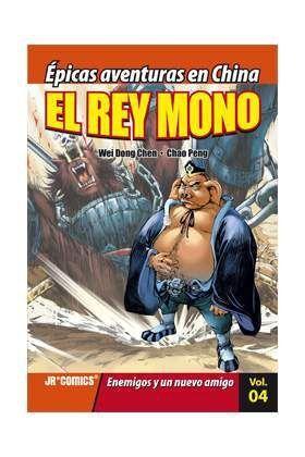 EL REY MONO #04. ENEMIGOS Y UN NUEVO AMIGO