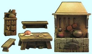 FENRYLL: MEDIEVAL HOUSE ACCESSORIES