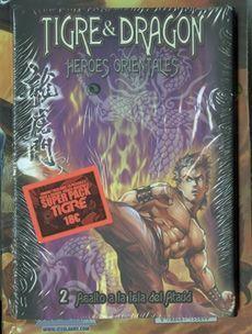 DRAGON TIGER GATE LA PELICULA #02 SUPERPACK CON TIGRE & DRAGON