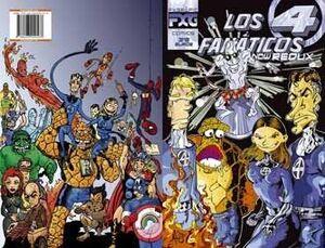 LOS 4 FANTASTICOS NOW REDUX #01
