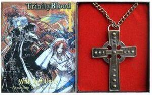 TRINITY BLOOD COLGANTE CRUZ