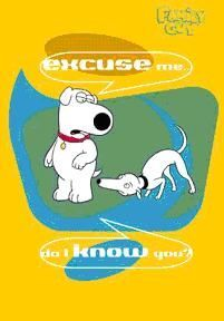 POSTER FAMILY GUY - I KNOW YOU