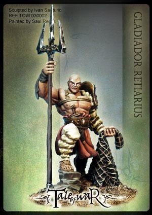 TALE OF WAR: GLADIADOR RETIARIUS