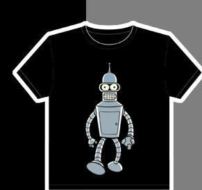 FUTURAMA CAMISETA BENDER XL