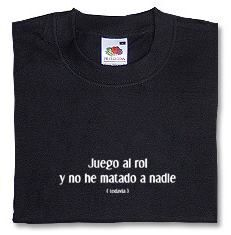 CAMISETA RF JUEGO AL ROL XXL-NEGRA
