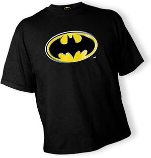 BATMAN CAMISETA NIÑO BATLOGO RELIEVE -6-