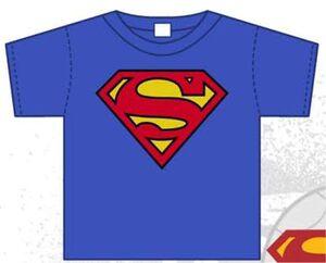 SUPERMAN CAMISETA NIÑO LOGO 6 AÑOS