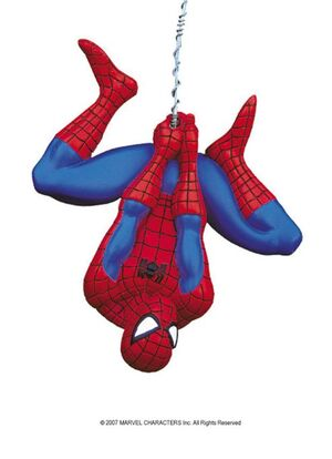 AMAZING SPIDERMAN COLGANTE FIGURA 14CM