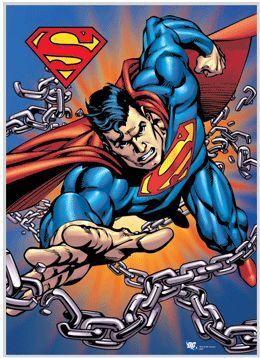 POSTER 3D SUPERMAN