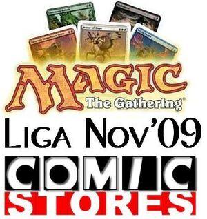 *TORNEO MAGIC LIGA COMIC STORES 12/11/09 (BOOSTER DRAFT)