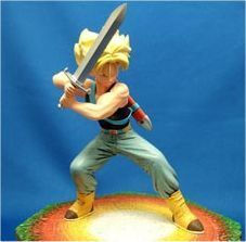 DRAGON BALL Z ESTATUA RESINA TRUNKS SG 20CM