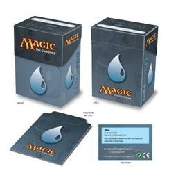 DECK BOX ULTRA PRO MAGIC SIMBOLO MANA AZUL