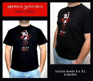 SUCCUBUS KISS CAMISETA HELL CHICO M/C