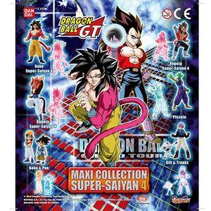 DRAGON BALL GT MAXI COLLECTION SUPER SAIYAN 4 (16 MODELOS)