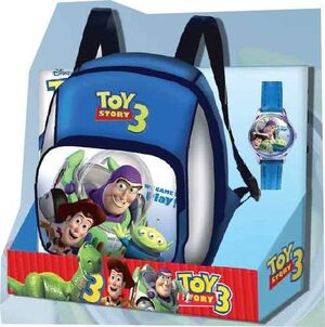 TOY STORY 3 MOCHILA + RELOJ FRIENDS