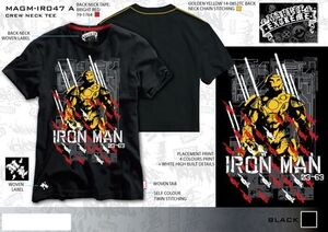 IRON MAN CAMISETA JAPAN L