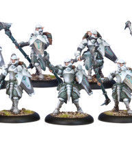 WARMACHINE: RETRIBUTION HOUSEGUARD HALBERDIERS (10)