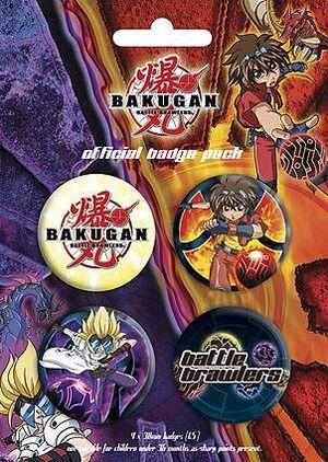 CHAPAS PACK DE 4 - BAKUGAN