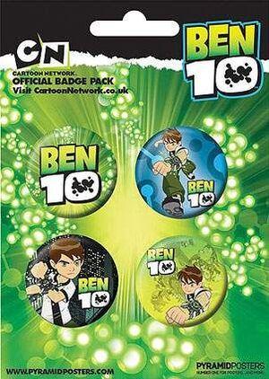 CHAPAS PACK DE 4 - BEN 10