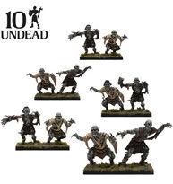KINGS OF WAR: UNDEAD GHOUL TROOP (10)