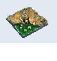 SWAMP BASES 50 X 50 MM (1) #1