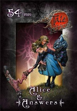 TALE OF WAR: ALICE & ANSWERS 54MM