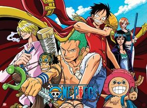 POSTER ONE PIECE PIRATES ALL STAR