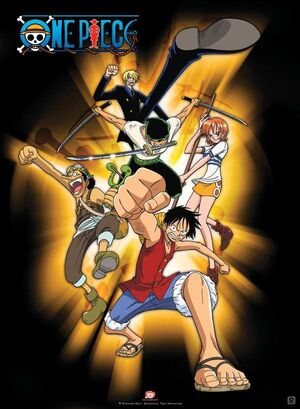 POSTER ONE PIECE LUFFY & CO