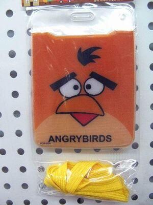ANGRY BIRDS COLGANTE MOVIL NARANJA