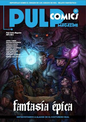 PULP COMICS MAGAZINE #02