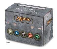 DECK BOX SIDE LOADING ULTRA PRO MAGIC SIMBOLOS MANA 3 - CONT VIDA