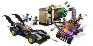 LEGO SUPER HEROES BATMAN VS DOS CARAS