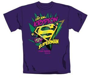 SUPERMAN CAMISETA CHICO LAST SON OF KRYPTON L