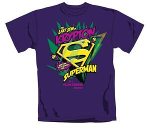 SUPERMAN CAMISETA CHICO LAST SON OF KRYPTON XL