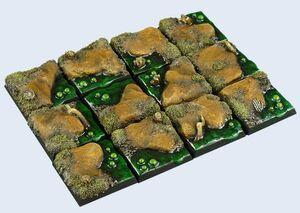 MICRO ART SWAMP BASES 25X25MM (5)