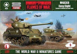 M4A3E8 EASY EIGHT (5 TANKS IN A BOX)