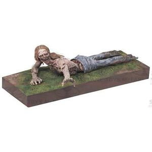 WALKING DEAD FIG 13CM SERIE 2 - BYCICLE GIRL ZOMBIE