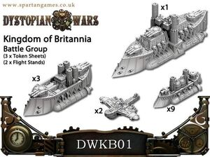 DYSTOPIAN WARS: KINGDOM OF BRITANNIA NAVAL GROUP