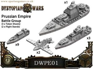 DYSTOPIAN WARS: PRUSSIAN EMPIRE NAVAL GROUP