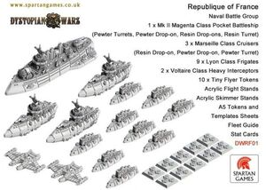 DYSTOPIAN WARS: REPUBLIQUE OF FRANCE NAVAL GROUP