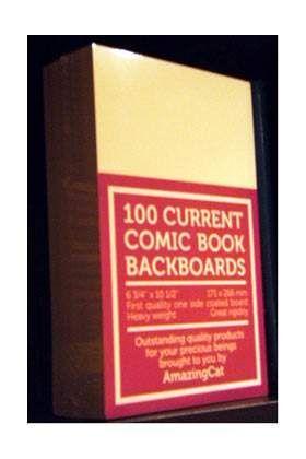 COMIC BOOK CRADBOARDS CURRENT - CARTONES PARA COMICS (100)