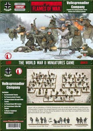 FOW VOLKSGRENADIER COMPANY (WINTER)