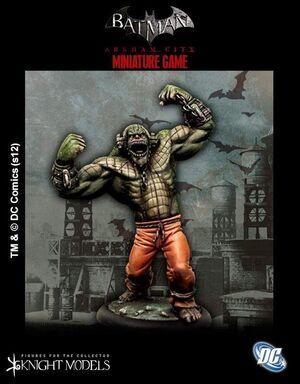 BATMAN MINIATURE GAME: KILLER CROC